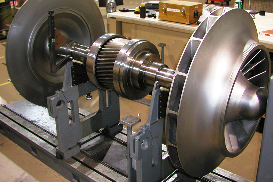 Full service rotating equipment repair